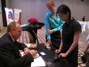 Book Signing, Guangzhou China